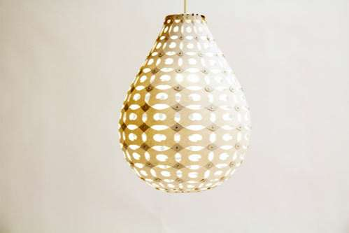 Laser-Cut Teardrop Lighting
