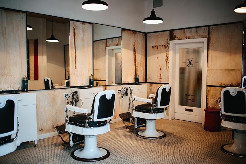 Throwback Barber Shops Blind Barber