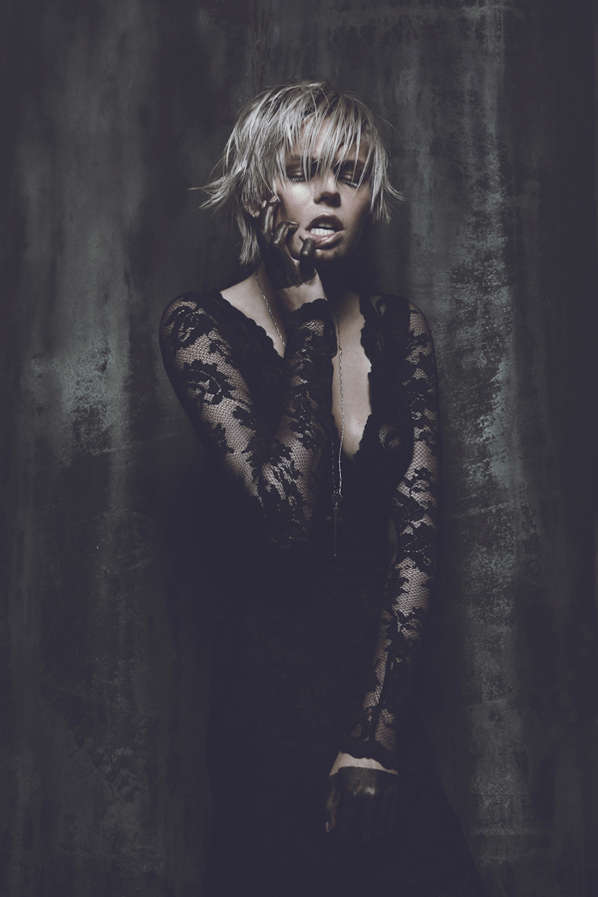 Grungy Aggressive Editorials