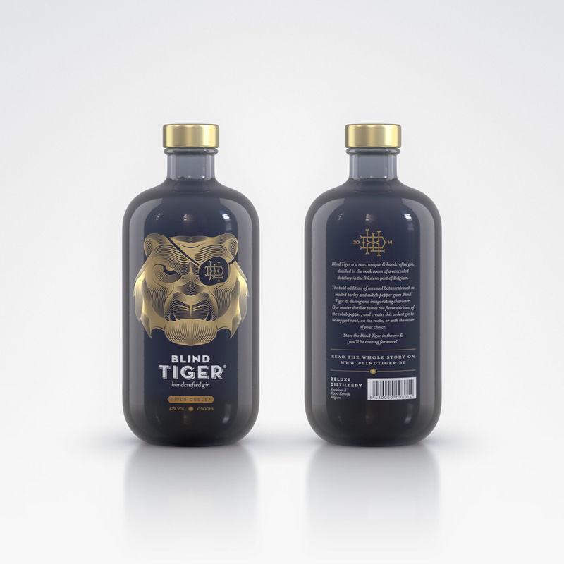 Ferocious Gin Bottles