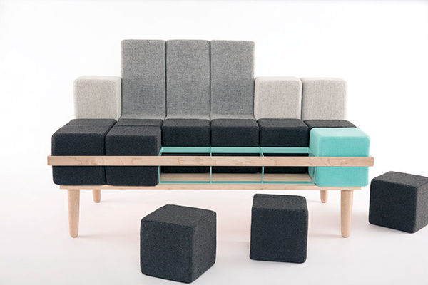 Customizable Tetris Couches