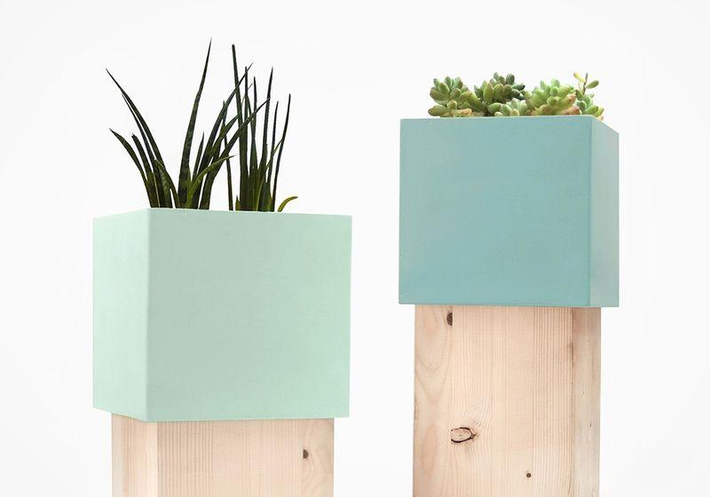 Minimalist Block Vases