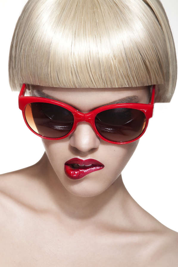Blond Bob Cut Editorials