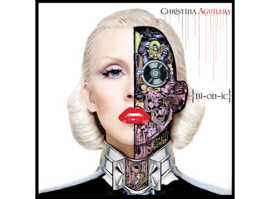 Blonde Cyborg CD Covers