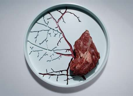 Plates with Veins