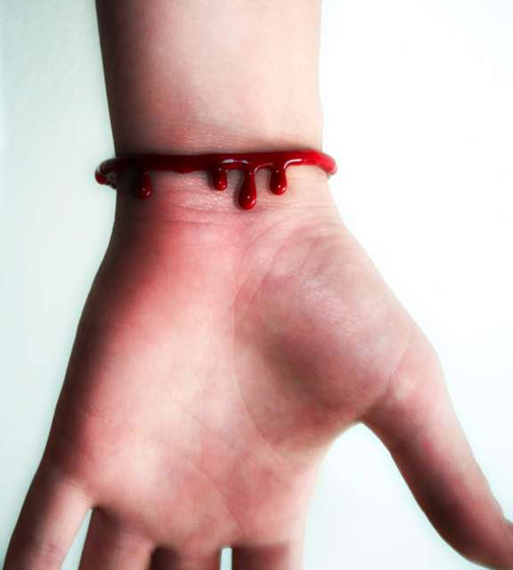 Morbid Blood Bracelets