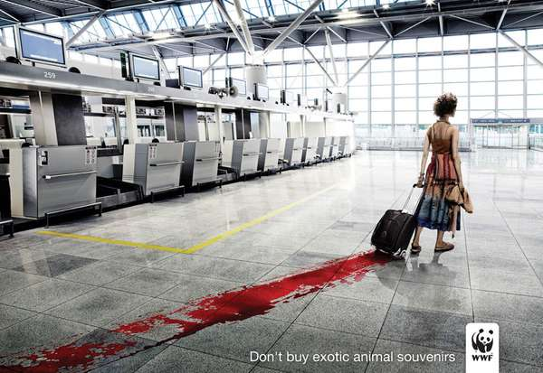 Bloodvertising for Animal Rights