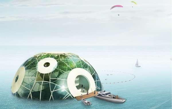 Buoyant Globe Hubs