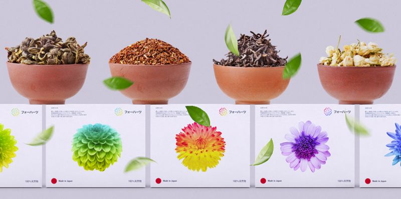 Botanical Tea Branding