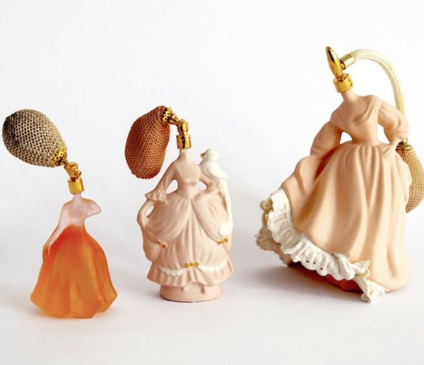 Lady-Shaped Perfume Bottles