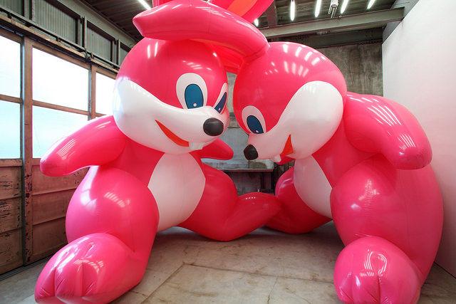 Inflatable Art Showcases