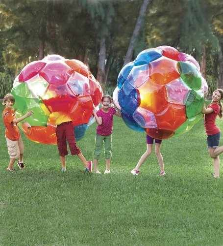 Multicolored Inflatable Balls