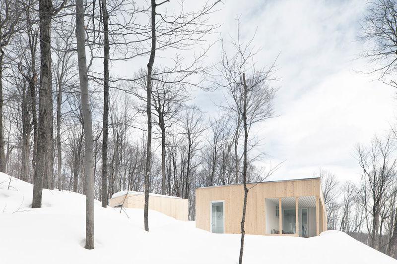Simplistic Cedar Cabins