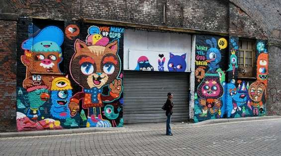 Kawaii Creature Street Art