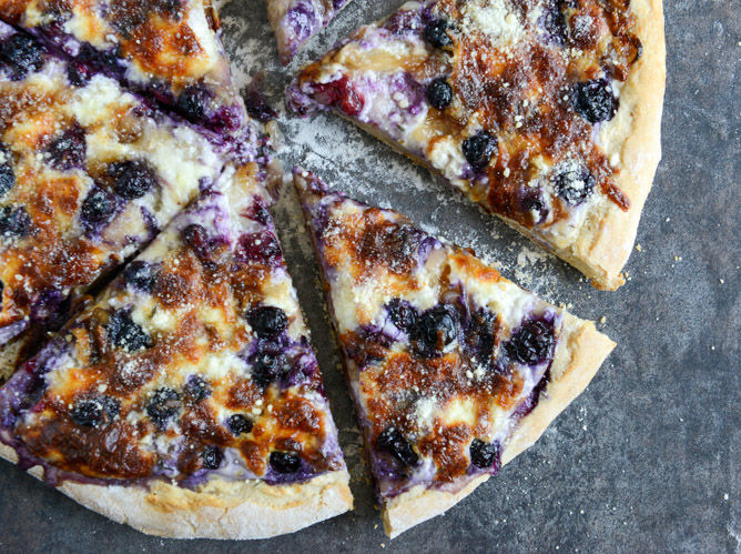 Blueberry Pizza Recipes