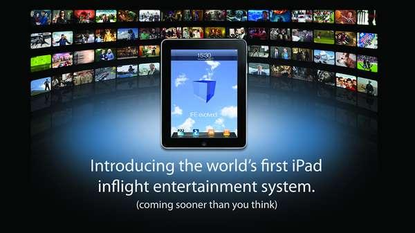 In-Flight iPads