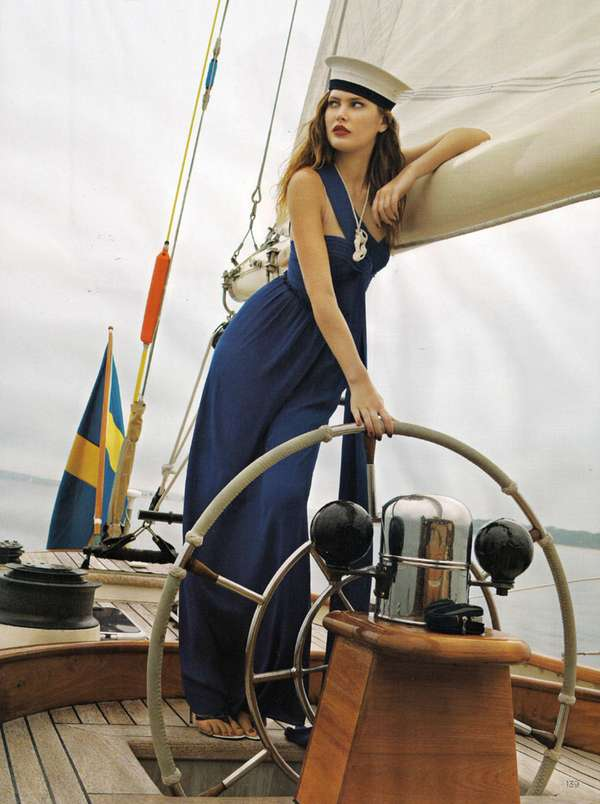 Stylish Seaworthy Shoots