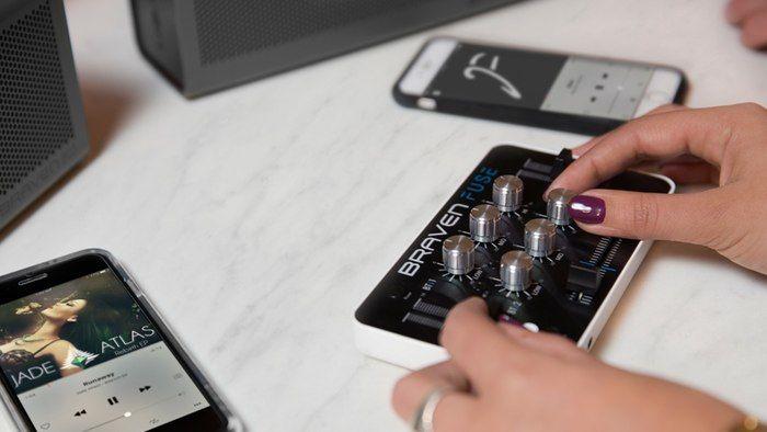 Compact Audio Mixers