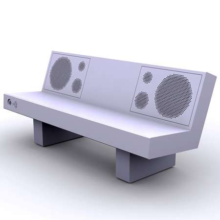 Bluetooth-Enabled Public Seating