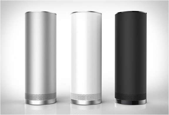 Sleek Standing Sound Systems