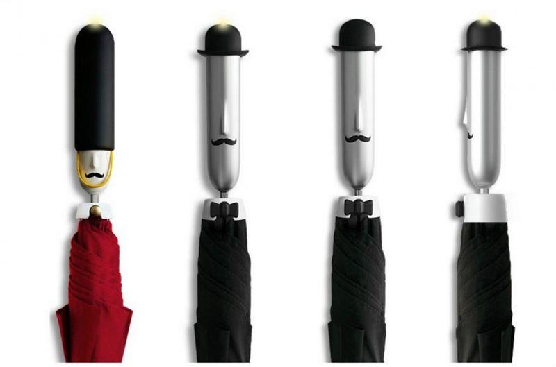 Bluetooth-Connected Umbrellas