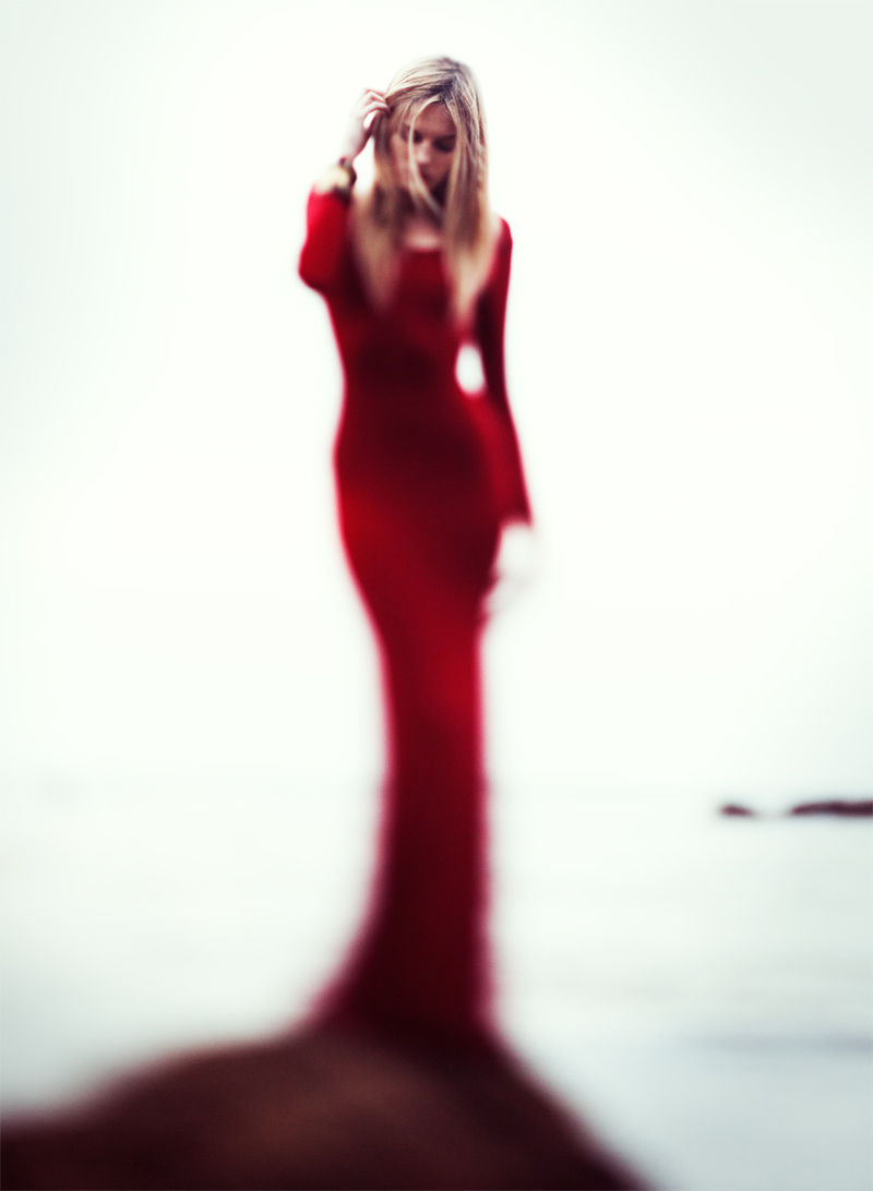 Blurred Silhouette Editorials