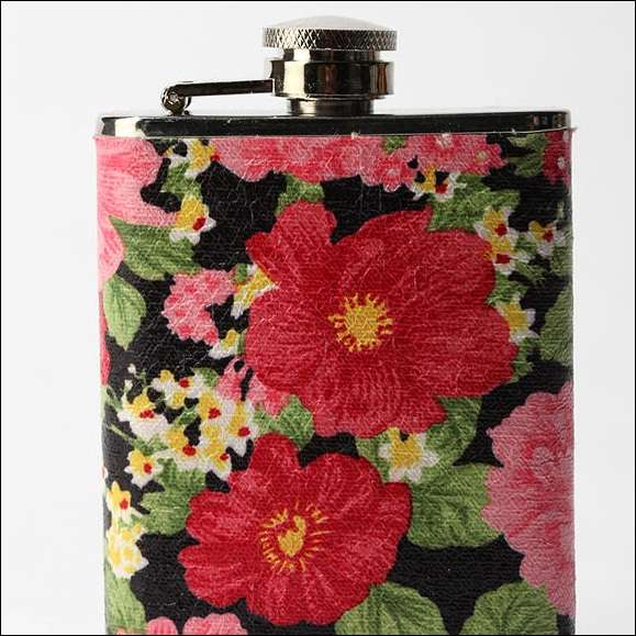 Blush Blossom Flask