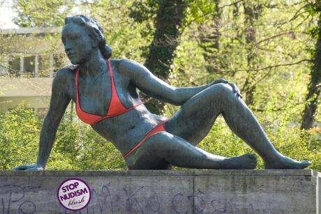 Bikini Model Statues