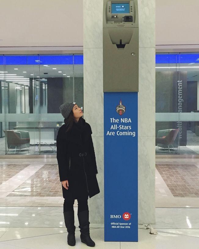 Basketball-Inspired ATMs
