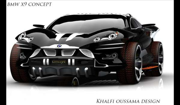 BMW-badged X9 Concept