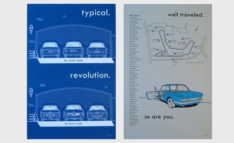Minimalist Auto Illustrations