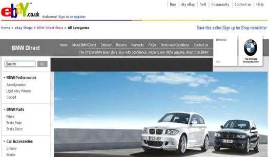 eBay Auto Shops