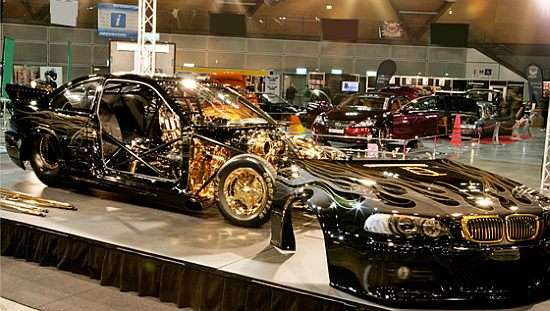 BMW Goldie Horn