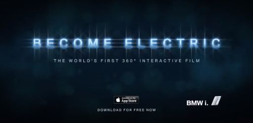 Immersive Cinematic Driving Apps Bmw I3 Electric Car