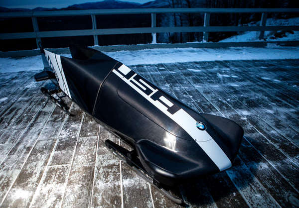 Streamlined Olympic Sleighs