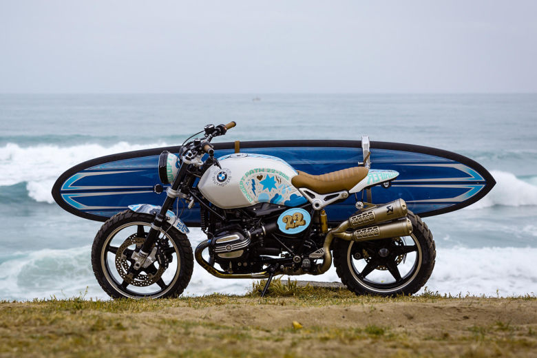 Surfboard-Carrying Motorcycles