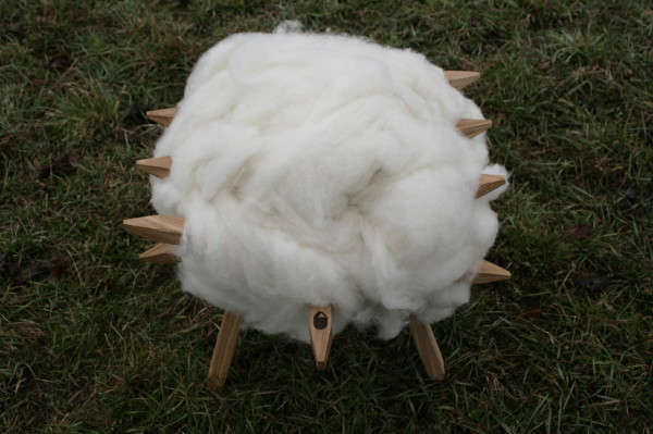 Peculiar Sheep-Inspired Seating