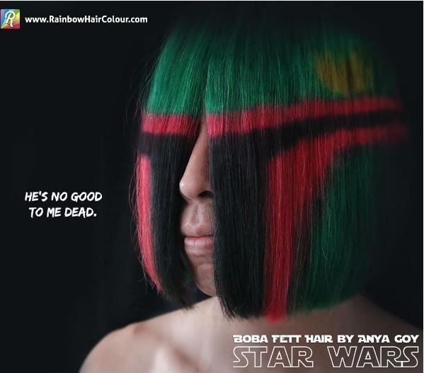 Sci Fi Helmet Hairstyles Boba Fett Hair