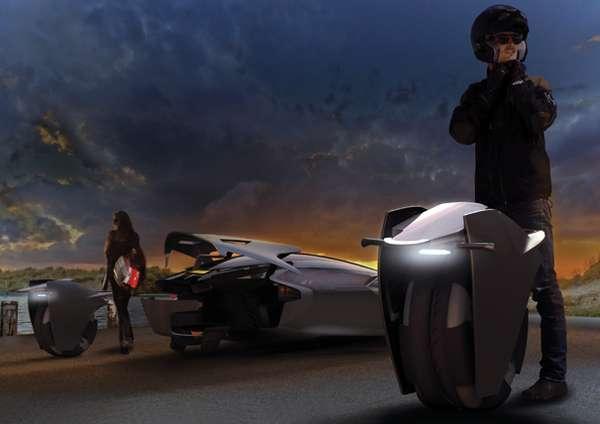 Motorbike-Car Hybrids