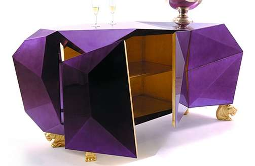 Crumpled Luxury Cabinets