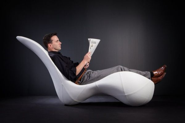 Curvaceous Sculptural Loungers
