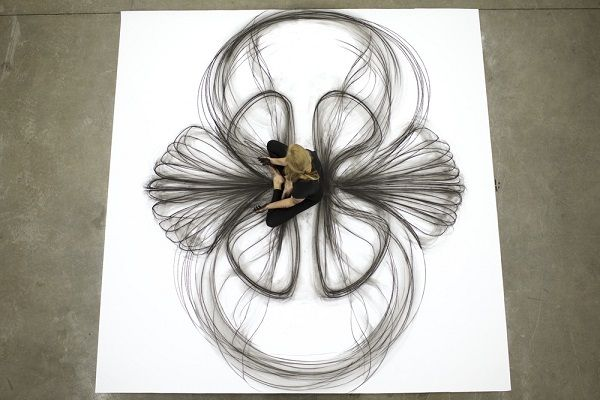 Kinetic Body Movement Drawings