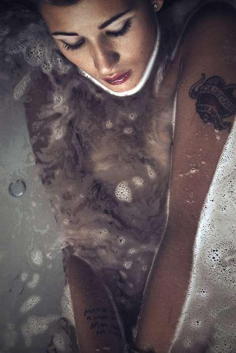 Tattooed Bathtub Shoots