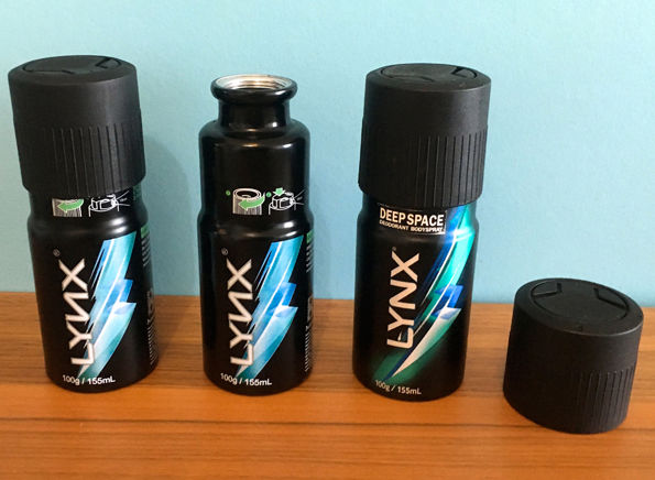 Hidden Deodorant Flasks