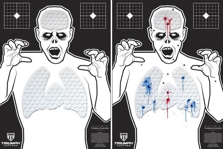 Zombie Body Targets