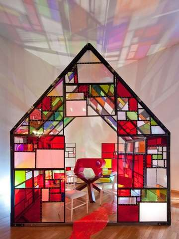 Stunning Stained-Glass Homes