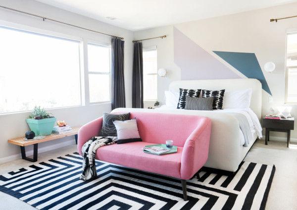 Bold Geometric Bedrooms
