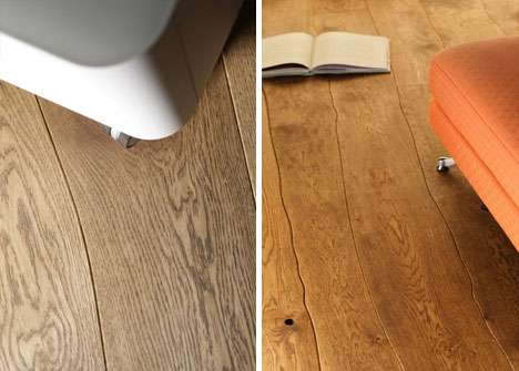 Flaw-Accentuating Flooring