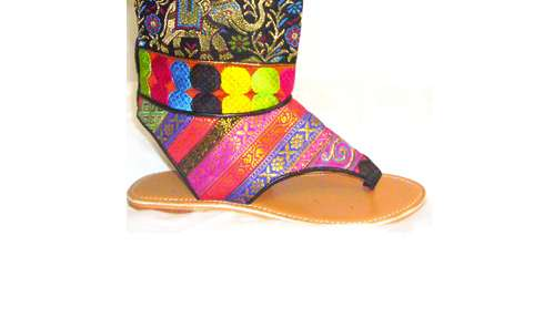 Indian Film-Inspired Sandals