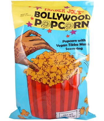 India-Inspired Popcorn Snacks